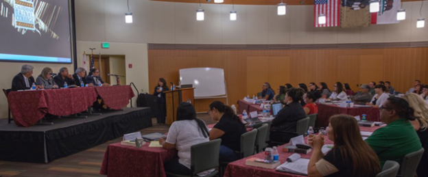 California Tribal College students in class